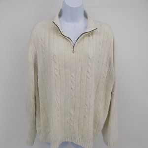 """Alfred Dunner' White/Ivory Cardigan"